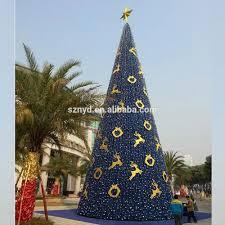 outdoor metal christmas trees christmas lights decoration