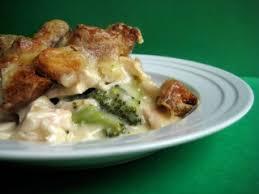 cuisiner le poulet brocoli gratiné au poulet et cheddar recettes du québec