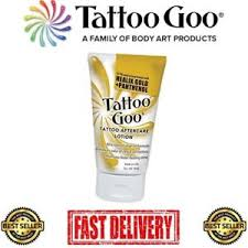 tattoo goo healix gold review tattoo goo aftercare lotion 2oz with healix gold and panthenol