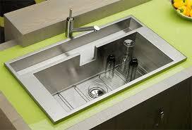 Undermount Kitchen Sink - kitchen engaging undermount kitchen sinks with drainboard