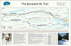 Boundary Waters Map Banadad Trail Association Trail Information