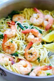 easy pasta recipes creamy shrimp pasta easy delicious recipes