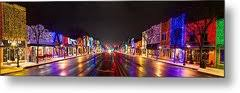 rochester christmas light display photograph by twenty two north