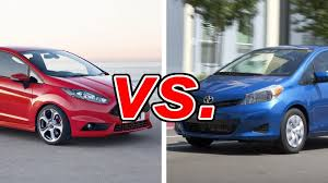 ford vs toyota yaris carsdirect