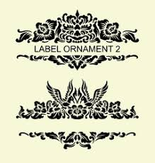 balinese ornament vector images 39