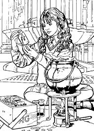 coloring pages harry potter picture 39