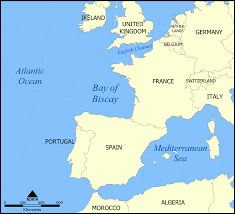 World Map With Seas by Bay Of Biscay Wikipedia