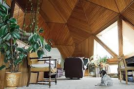 geodesic dome home interior a potter truck driver s heartland renovated retro geodesic