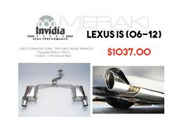 invidia q300 lexus gs 350 sale master engine thread ark meisterschaft etc clublexus