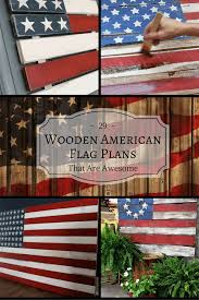 Wooden American Flag Wall Hanging 29 Awesome Diy Wooden American Flag Plans Wooden American Flag