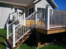aluminum deck railing designs installation u2014 doherty house