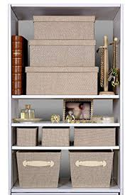 Storage Boxes Bathroom Excellent Closet Organizer Box Creative Scents Fabric