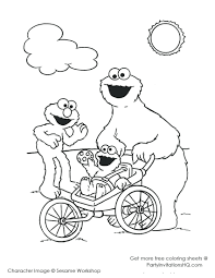 coloring pages cookie monster coloring pages kids cookie