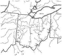ohio river valley map one state many nations of ohio reserve