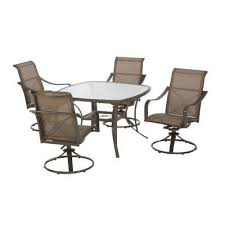 Martha Stewart Outdoor Furniture Replacement Parts by Martha Stewart Living Grand Bank 5 Piece Patio Dining Set