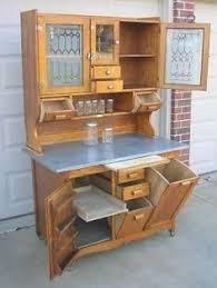 Antique Kitchen Cabinet With Flour Bin Antique Bakers Cabinet Oak Hoosier Kitchen Cabinet 1495 00