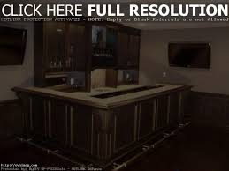 apartments stunning red home bar design with glossy black granite