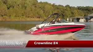 crownline e4 youtube