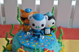 octonauts cake topper octonauts birthday party kids party space