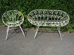 Patio Furniture Vintage - furniture design ideas vintage garden furniture sets retro garden