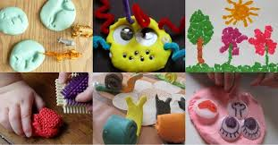 34 things to make do with playdough