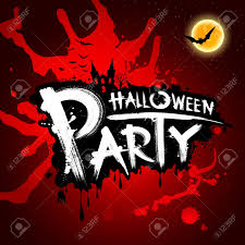 halloween party red blood background illustration royalty free