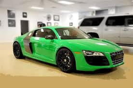 Audi R8 Green - super exotic and concept cars audi r8