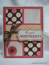 154 best scrapbooking birthday cards images on pinterest