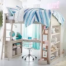 teen loft beds u0026 bunk beds pbteen