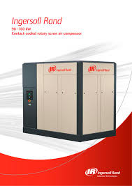r90 160 kw contact cooled rotary air compressor ingersoll