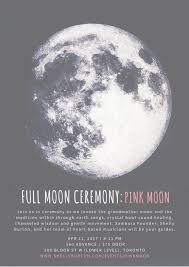 Pink Moon Full Moon Ceremony Pink Moon U2014 Shelly Burton