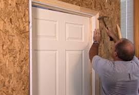 Interior Door Trim How To Install Interior Door At The Home Depot