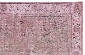 Vintage Overdyed Turkish Rugs Vintage Turkish Pink Overdyed Rug For Sale At Pamono