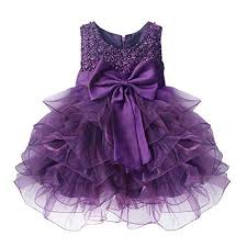 yizyif baby communion pageant wedding princess flower dress