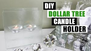 diy dollar tree floating candle holder diy home decor youtube