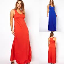 aliexpress com buy super long women tank top dress extra plus