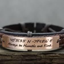 Customized Engraved Bracelets Best Men Custom Engraved Leather Bracelets Products On Wanelo