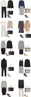 over 40 work clothing capsule basic work capsule wardrobe 40 outfit ideas livelovesara