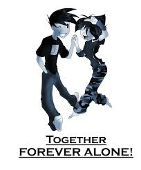 Together Alone Meme - together forever alone by hiss graphics on deviantart