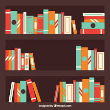 on a shelf library shelf vectors photos and psd files free