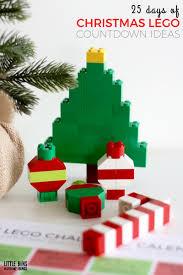 lego christmas building ideas calendar countdown for kids