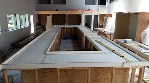 How To Build A Concrete Bar Top Concrete Bar Top At Journey Coworking In Austin Concrete Planters