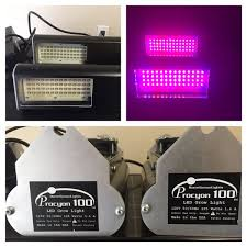 usa made led grow lights procyon 100 led full spectrum grow light x2 electronics in orlando fl