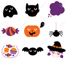 vector halloween halloween seasonal icons vector cartoon royalty free cliparts