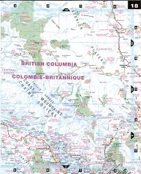 Map Of Pacific Pacific Coast Bc