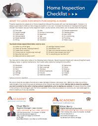 Home Buyers Inspection Checklist by Co Branded Flyer Pack U2013 Academy Mortgage Az Shop
