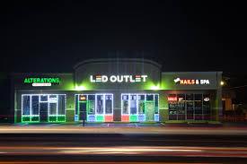 led light design led lights for business windows led lights