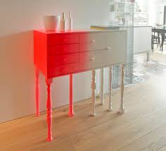 Classic Contemporary Furniture Design Classic Furniture Meets Bright Neon Colours The Eclectic Squid