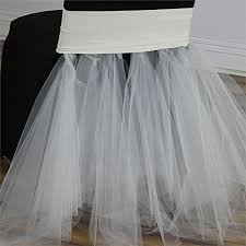 tutu chair covers cheap tulle table cover find tulle table cover deals on line at