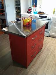 ikea hack kitchen island a small but looking center island another ikea hack all